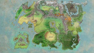 Beyond Skyrim Dev Diary muestra el enorme continente de Tamriel
