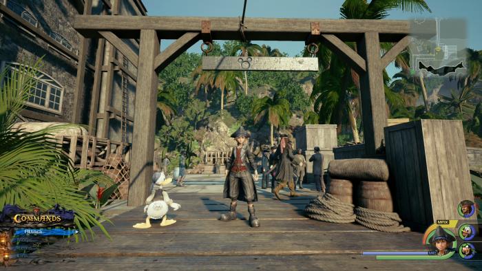 Kingdom Hearts 3 - Emblemas de la Suerte - Cómo desbloquear el final secreto 85