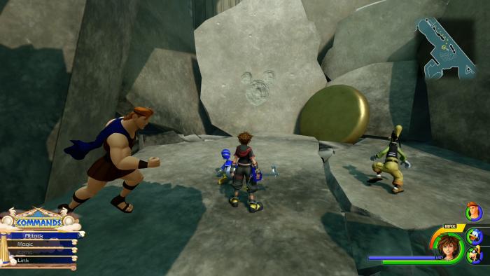 Kingdom Hearts 3 - Emblemas de la Suerte - Cómo desbloquear el final secreto 44