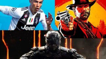 Sony comparte la lista de juegos mas descargados para Playstation 4 en 2018