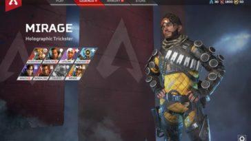 Apex Legends - Mirage: Trucos para ser el mejor Pícaro Holográfico