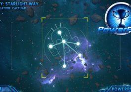 Kingdom Hearts 3 - Posición de las constelaciones a fotografiar