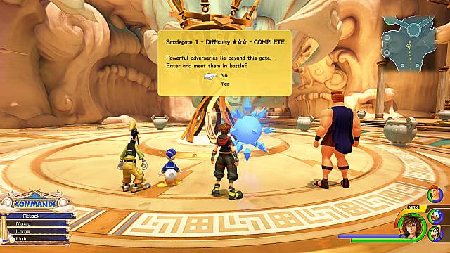 Kingdom Hearts 3 -  Portales de Batalla y Recompensas 16