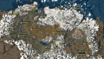 Skyrim - Mapas Interactivos 1