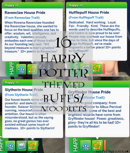 Los Sims 4 - Harry Potter (Mods) 15