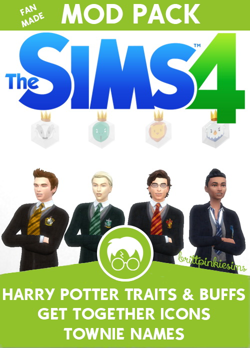 Los Sims 4 - Harry Potter (Mods) 10