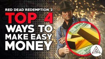 Red Dead Redemption 2 - Cómo conseguir dinero
