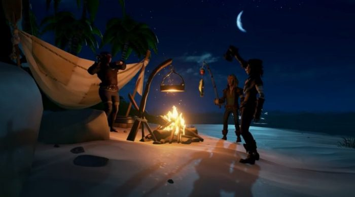Sea of Thieves cooking