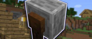 Minecraft - Cómo hacer una afiladora / amoladora (1.14) 1