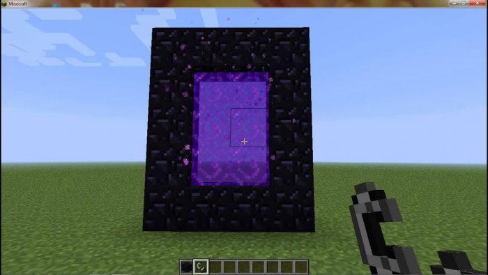 Cómo hacer portales en Minecraft 3