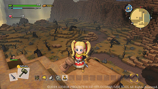 Dragon Quest Builders 2 - Cómo encontrar fragmentos de rocobomba 1