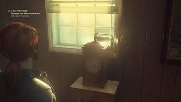 """Control - Cómo resolver el rompecabezas del reloj en """"A Matter of Time"""" 1"""