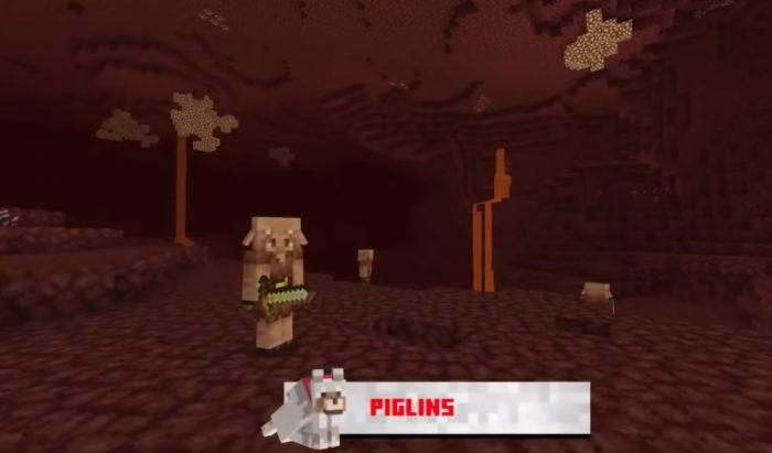 Minecraft - La actualización Nether cuenta con Netherwart Forest, Soulsand Valley y una nueva raza - los Piglins (1.16) 2