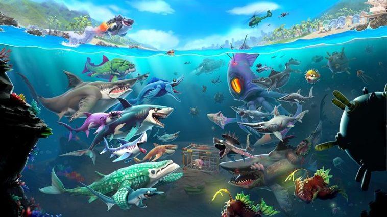 Hungry Shark World - Cómo desbloquear todos los tiburones y otros trucos