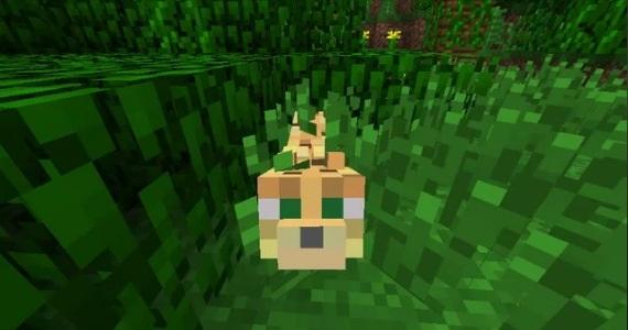 Minecraft - Cómo domesticar un Leopardo (ocelote) (1.14) 1
