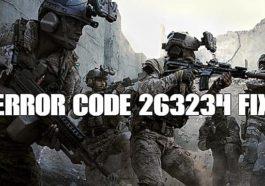 Call of Duty Modern Warfare - Cómo solucionar el código de error 263234 1