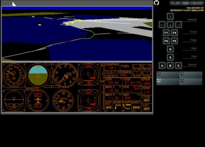 Flight Simulator - Prueba las primeras versiones del simulador desde tu navegador completamente gratis