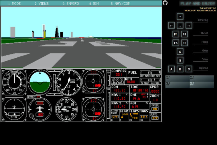 Flight Simulator - Prueba las primeras versiones del simulador desde tu navegador completamente gratis 2