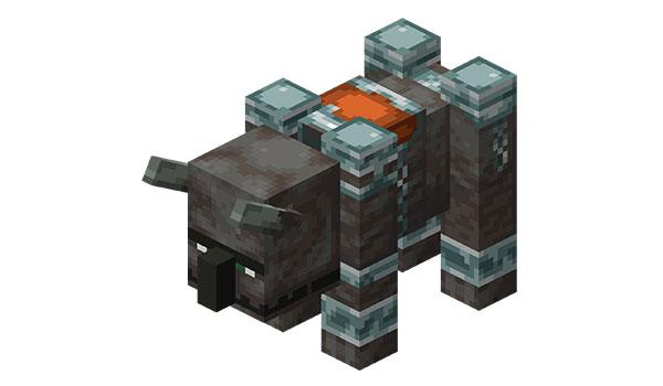 Minecraft - Cómo domesticar un Devastador (1.14) 1