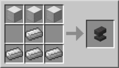 Minecraft - Cómo hacer un yunque