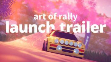 Art of Rally - Trailer de Lanzamiento
