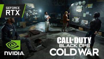 Call of Duty: Black Ops Cold War - El trailer RTX