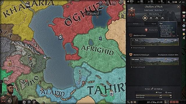 Crusader Kings 3 - Cómo conseguir oro rápidamente 1