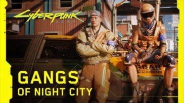 Cyberpunk 2077 — Bandas de Night City