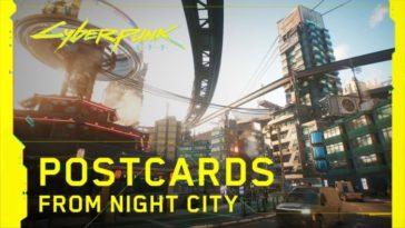 Cyberpunk 2077 — Postales de Night City