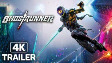 Ghostrunner - Official Pre-Order Trailer (4K)