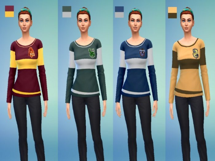 Los Sims 4 - Harry Potter (Mods)