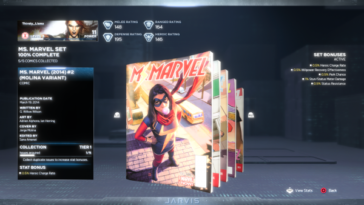 Marvel's Avengers - Donde encontrar los comics de MS Marvel 1