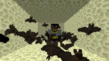 Minecraft - Cómo invocar a un murciélago 3