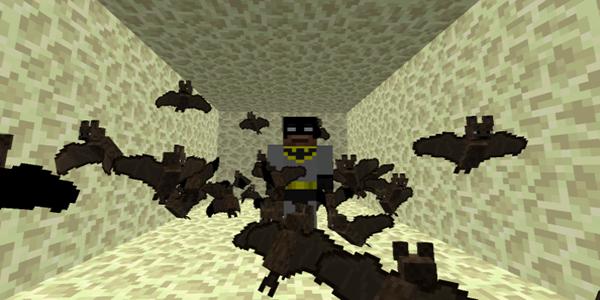 Minecraft - Cómo invocar a un murciélago 5