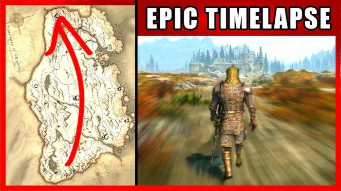 The Elder Scrolls V: Skyrim - Walk Across