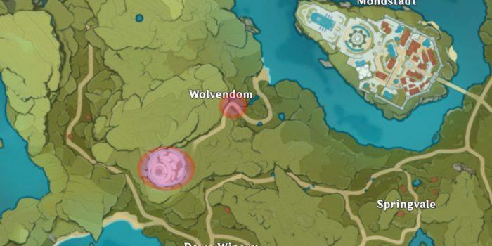 Genshing Impact - Cómo encontrar Wolfhook