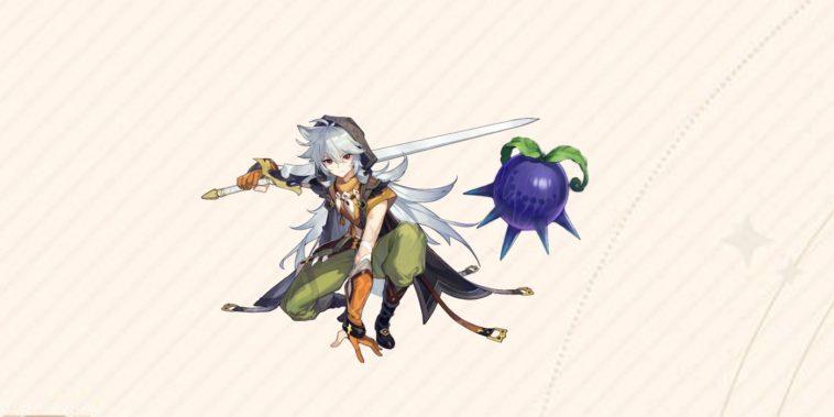 Genshin Impact - Cómo encontrar Wolfhook 1
