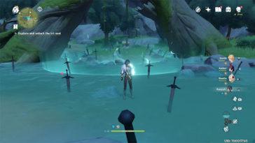 Genshin Impact - Cómo romper el sello triple del cementerio de espadas 1