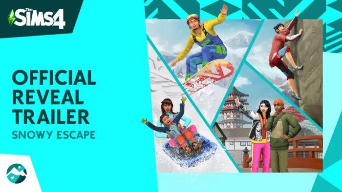 Los Sims 4 - Escapada en la nieve (Trailer revelación)