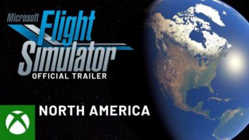 Microsoft Flight Simulator - Trailer Norte América