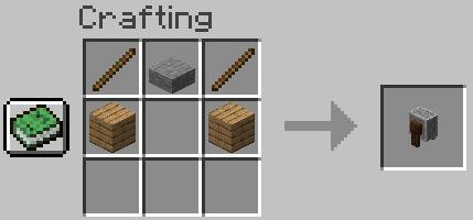 Minecraft - Cómo hacer una afiladora / amoladora (1.14)