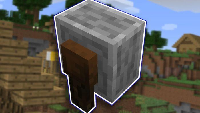 Minecraft - Cómo se usa una afiladora / amoladora (1.14) 2