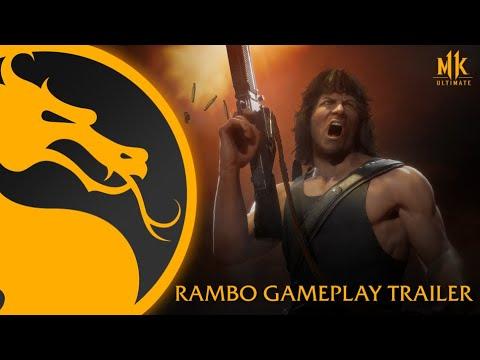 Mortal Kombat 11 Ultimate - Rambo Gameplay Trailer 1