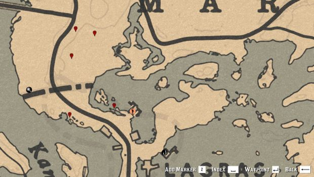 Where to find Vanilla flowers in Red Dead Online