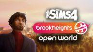 Sims 4 - Brookheights, el mod que promete un mundo abierto
