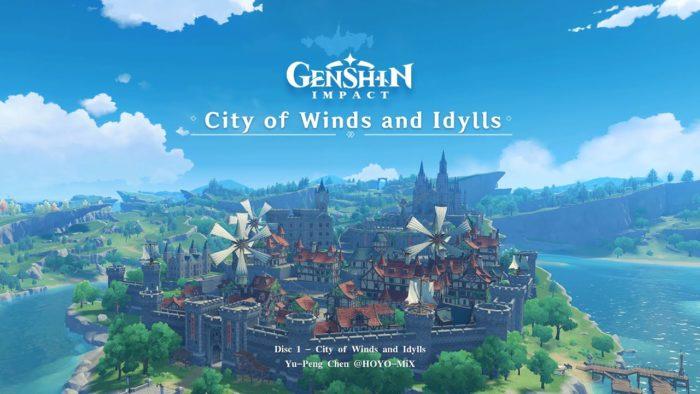 Genshin Impact - Su encantadora banda sonora está en YouTube, gratis