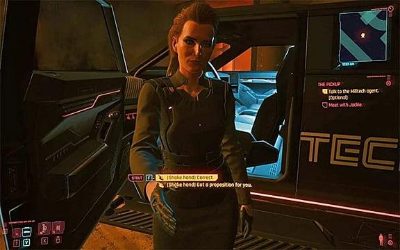 Cyberpunk 2077 - The Pickup: ¿Matar a Royce o pagar? 1