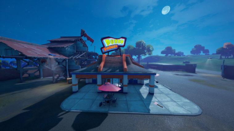 Fortnite - Localizacion de los Durr Burger y sus Food Truck 1