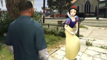Actores recrean una escena icónica de GTA 5 en la vida real