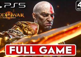 God of war 3 remastered - Walkthrough (Playstation 5, 4K 60fps)